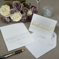Scripted Marble Bridesmaid Cards (3)